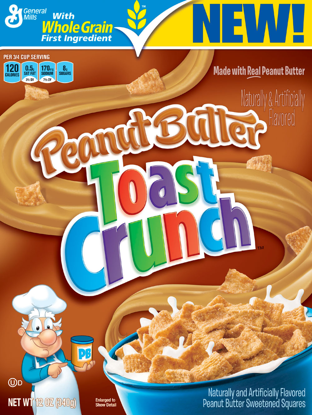 ... Mills Peanut Butter Toast Crunch Cereal | The Voice of Amy Lynn